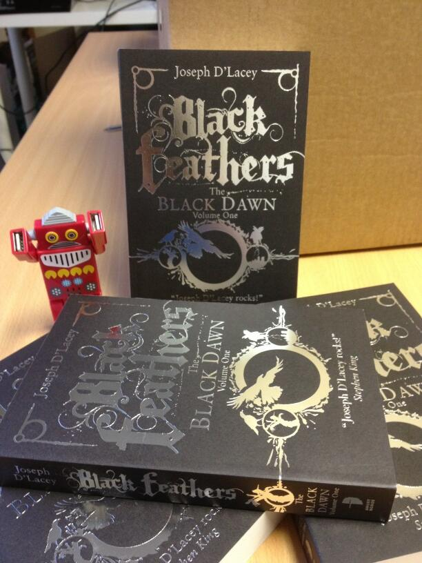 The final printed copies arrived at Angry Robot HQ this morning – gorgeous or what?