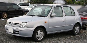 A Nissan Micra. One that works.