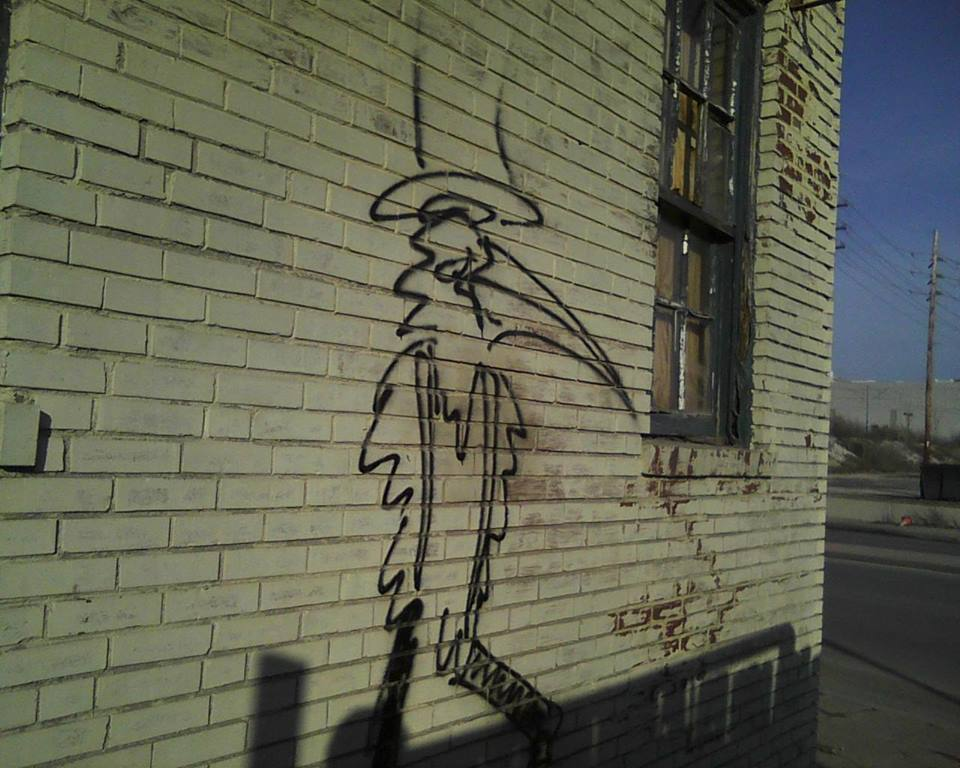 Crowman Graffiti 2